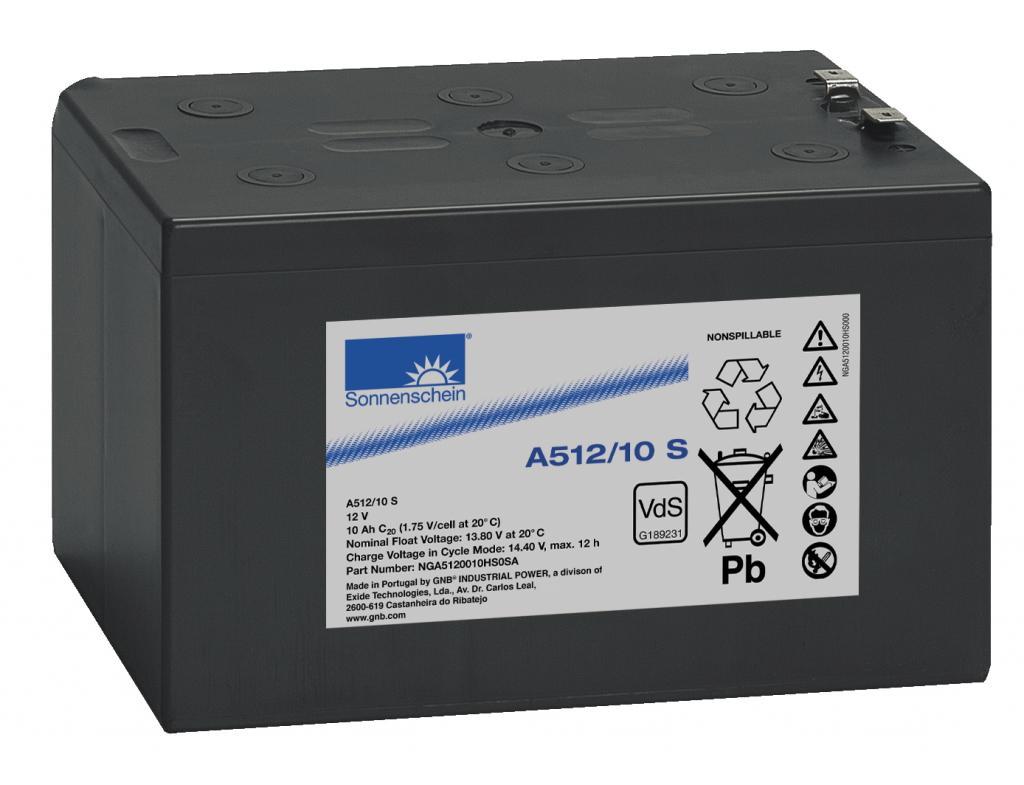 A512/10 S Exide wartungsfr. Gel Bleibatterie