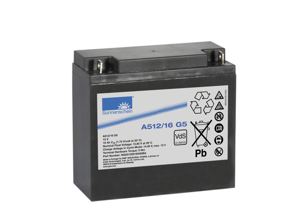 A512/16G5 Exide wartungsfr. Gel Bleibatterie