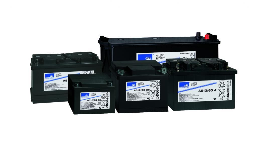 A512/25 G5 Exide wartungsfr. Gel Bleibatterie