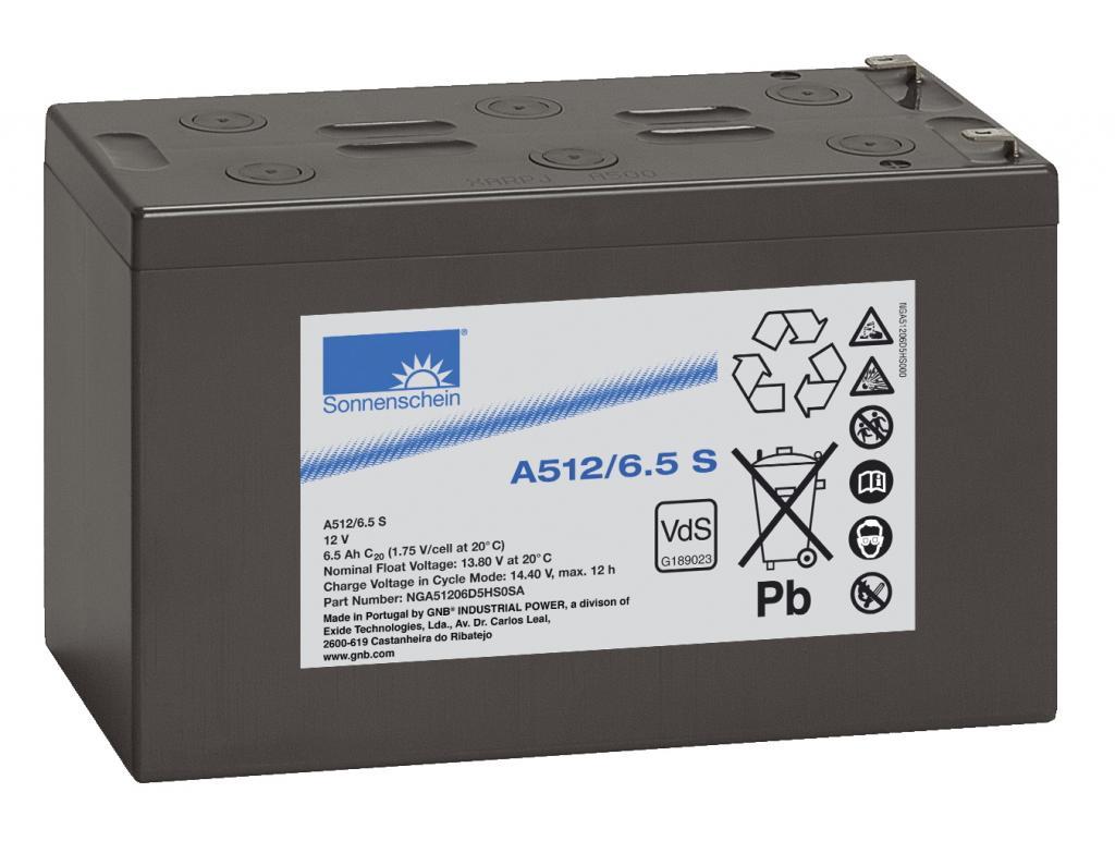 A512/6,5S Exide wartungsfr. Gel Bleibatterie