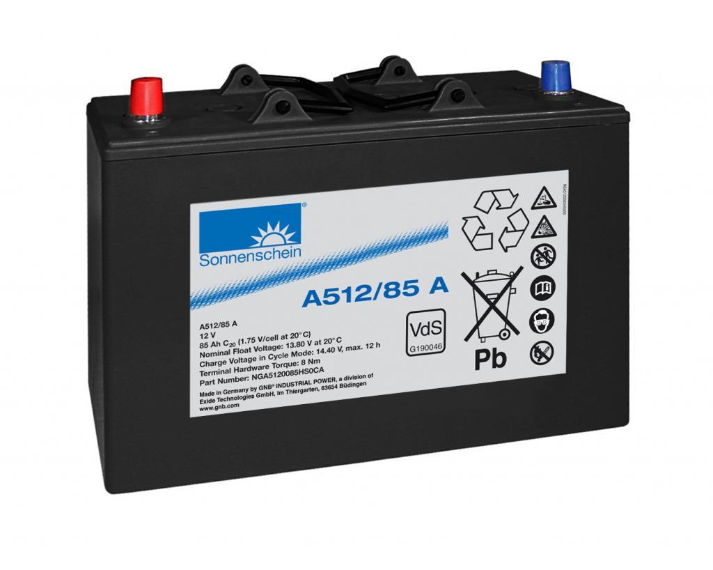 A512/85A Exide wartungsfr. Gel Bleibatterie