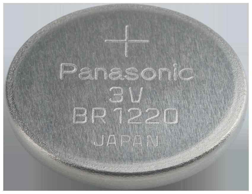 BR-1220-1HE Panasonic Lithium Knopfzelle