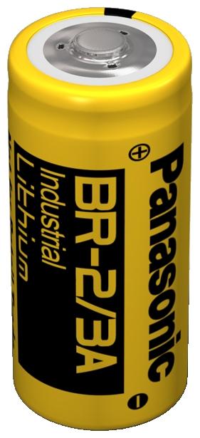 BR-2/3AE Panasonic Lithium Rundzelle