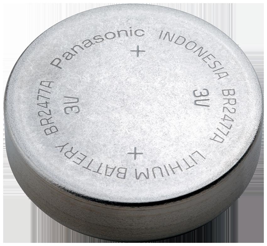 BR-2477A/FBN Panasonic Lithium Knopfzelle