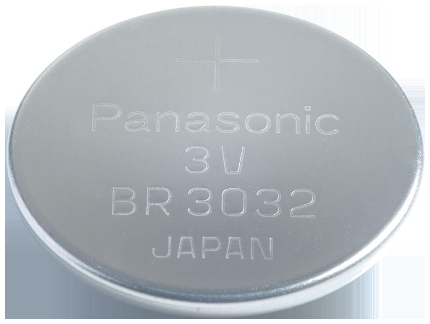BR-3032-1F2 Panasonic Lithium Knopfzelle