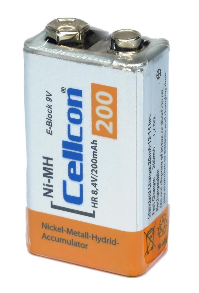 CNH-E-BLOCK Cellcon NiMh Akku