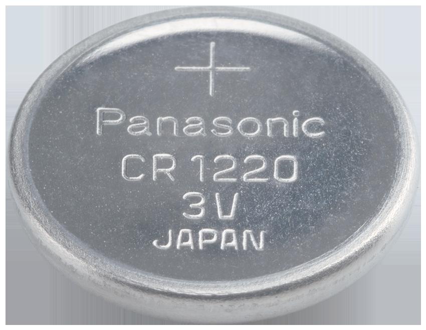 CR-1220 Panasonic Lithium Knopfzelle