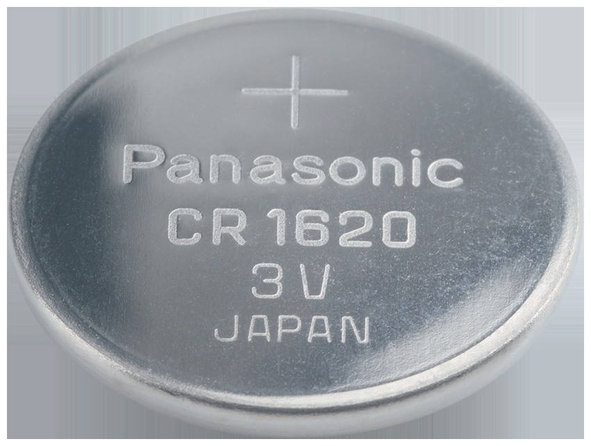 CR-1620 Panasonic Lithium Knopfzelle
