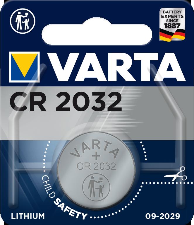CR-2032 VARTA/1B Varta Lithium Knopfzelle