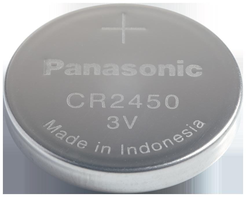 CR-2450 Panasonic Lithium Knopfzelle