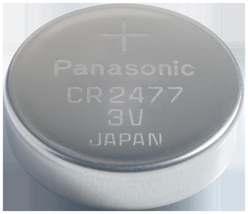 CR-2477 Panasonic Lithium Knopfzelle