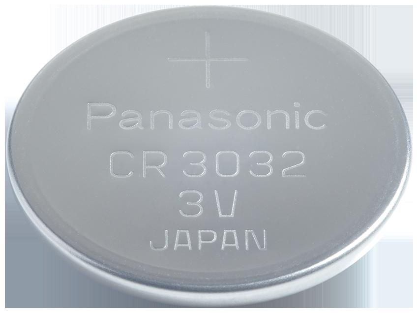 CR-3032 Panasonic Lithium Knopfzelle