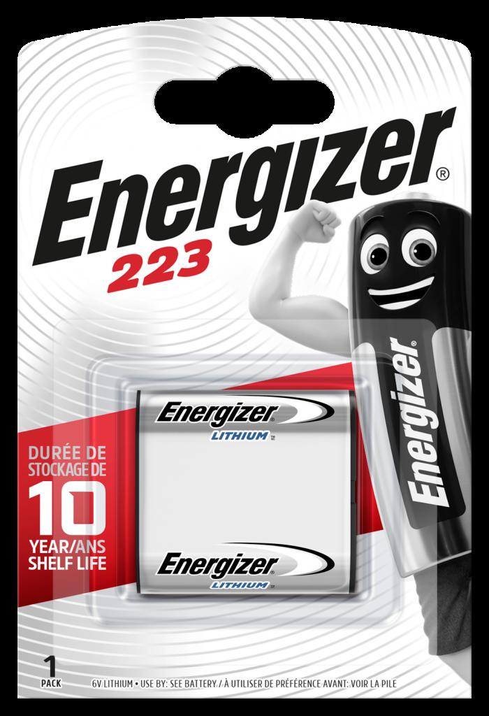 CR-P2 Energizer Lithiumbatterie 6V