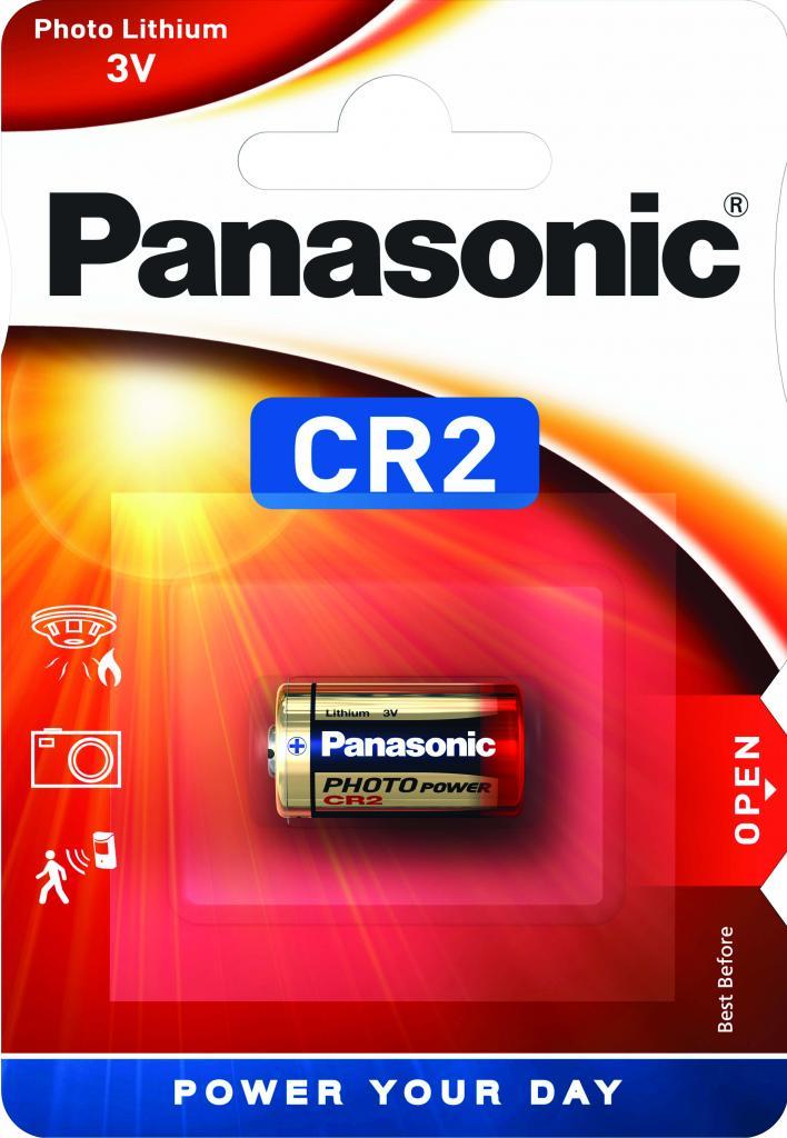 CR2-Panasonic Lithium Zylinderzelle