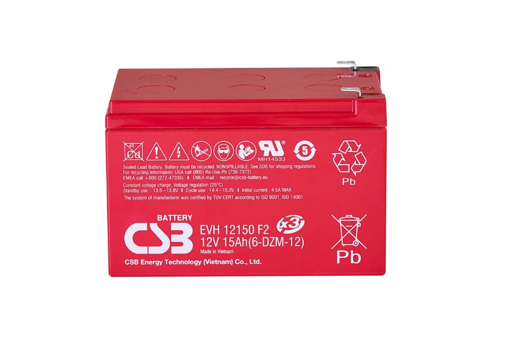 CSB-EVH12150X3 CSB wartungsfr. AGM Bleibatterie