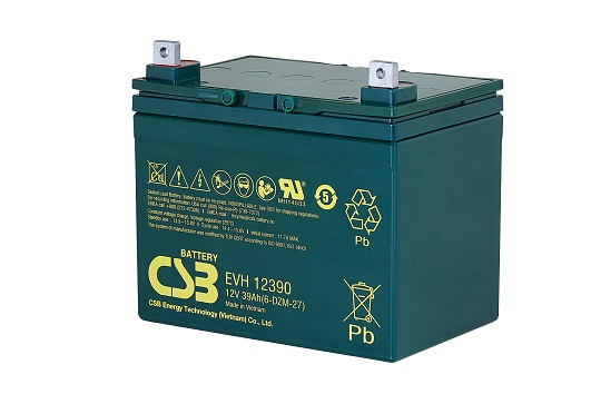 CSB-EVH12390 CSB wartungsfr. AGM Bleibatterie