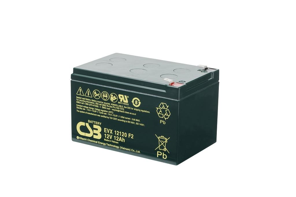 CSB-EVX12120F2 CSB wartungsfr. AGM Bleibatterie
