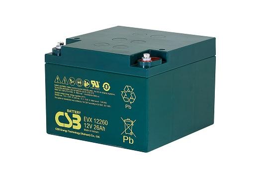 CSB-EVX12260 CSB wartungsfr. AGM Bleibatterie
