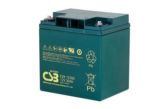 CSB-EVX12300 CSB wartungsfr. AGM Bleibatterie