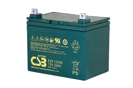 CSB-EVX12340 CSB wartungsfr. AGM Bleibatterie