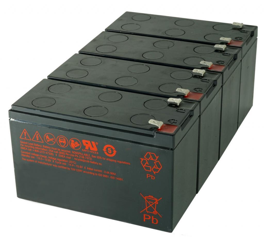 CSB-SCD133 USV Akkuset geeignet für APC RBC133