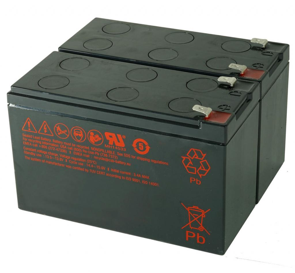 CSB-SCD33 USV Akkuset geeignet für APC RBC33