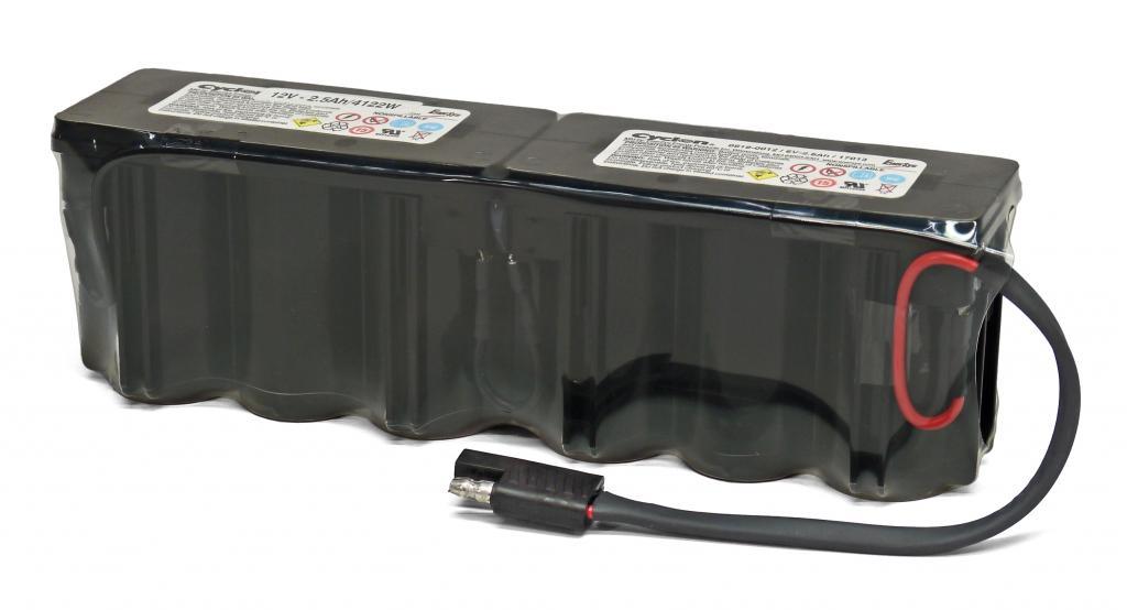 D-12V/2,5AH 0819-0017 Enersys wartungsfr. Reinblei-Batterie