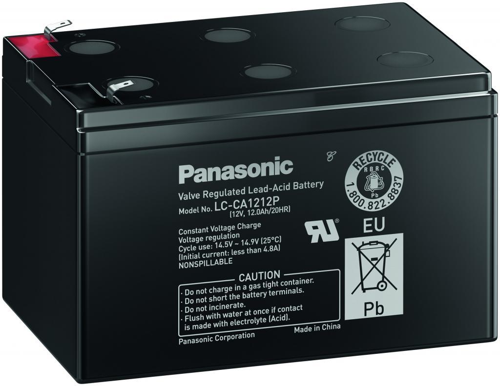 LC-CA1212P1 Panasonic wartungsfr. AGM Bleibatterie