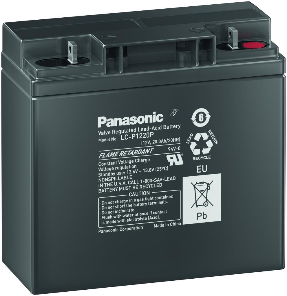 LC-P1220P Panasonic wartungsfr. AGM Bleibatterie