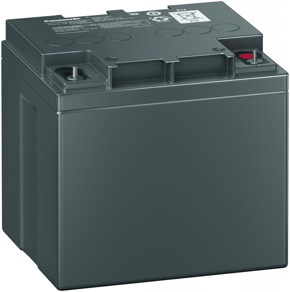 LC-P1242AP Panasonic wartungsfr. AGM Bleibatterie