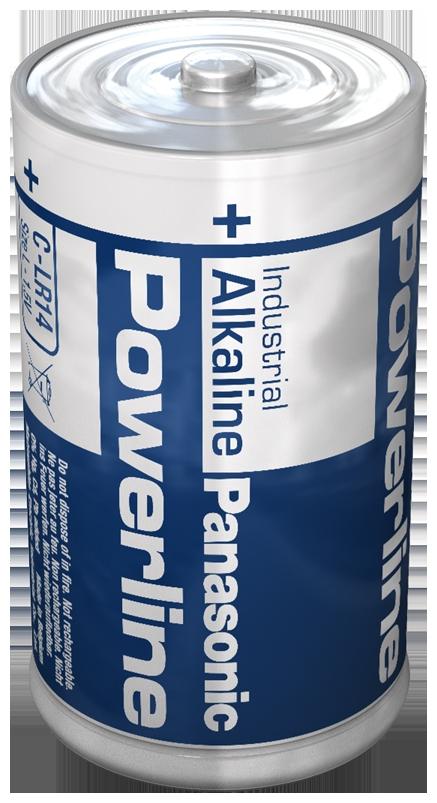LR14A/B Panasonic Alkali-Mangan Batterie