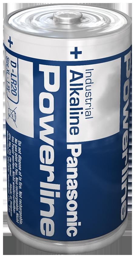 LR20AD/B Panasonic Alkali-Mangan Batterie