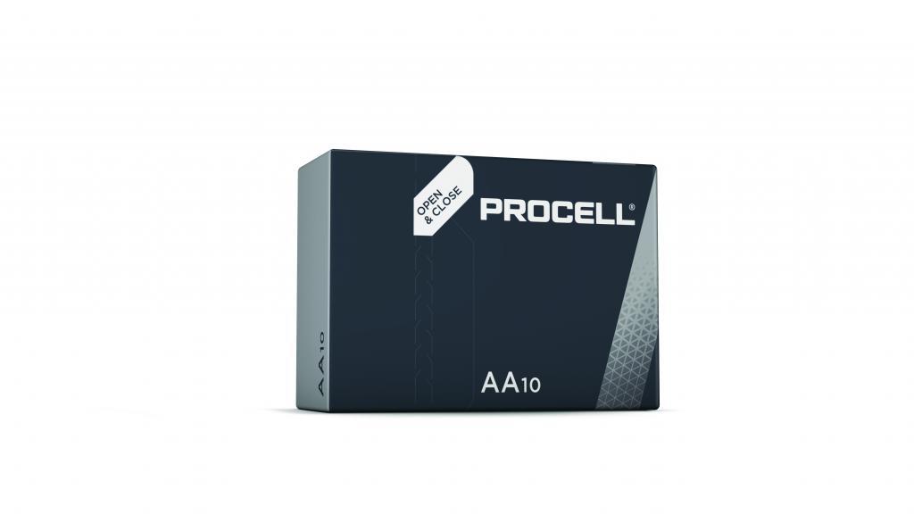 LR6/MN1500/10 Duracell Alkali-Mangan Batterie