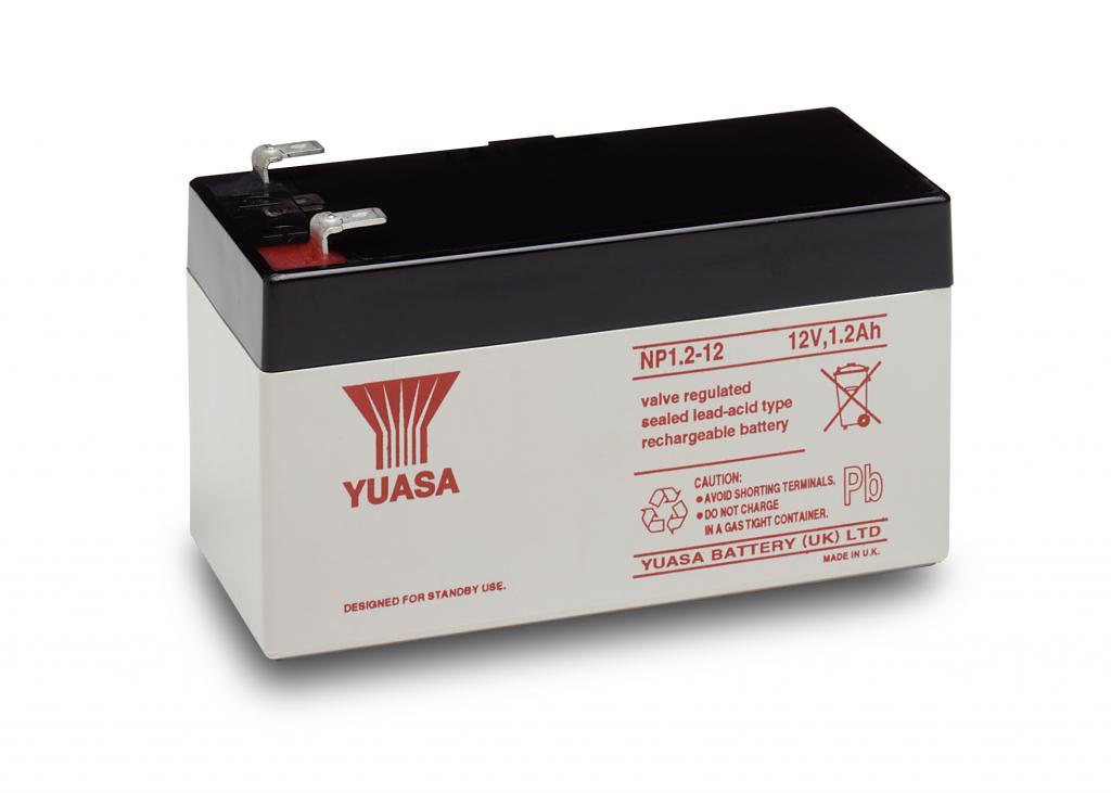 NP1.2-12 Yuasa wartungsfr. AGM Bleibatterie