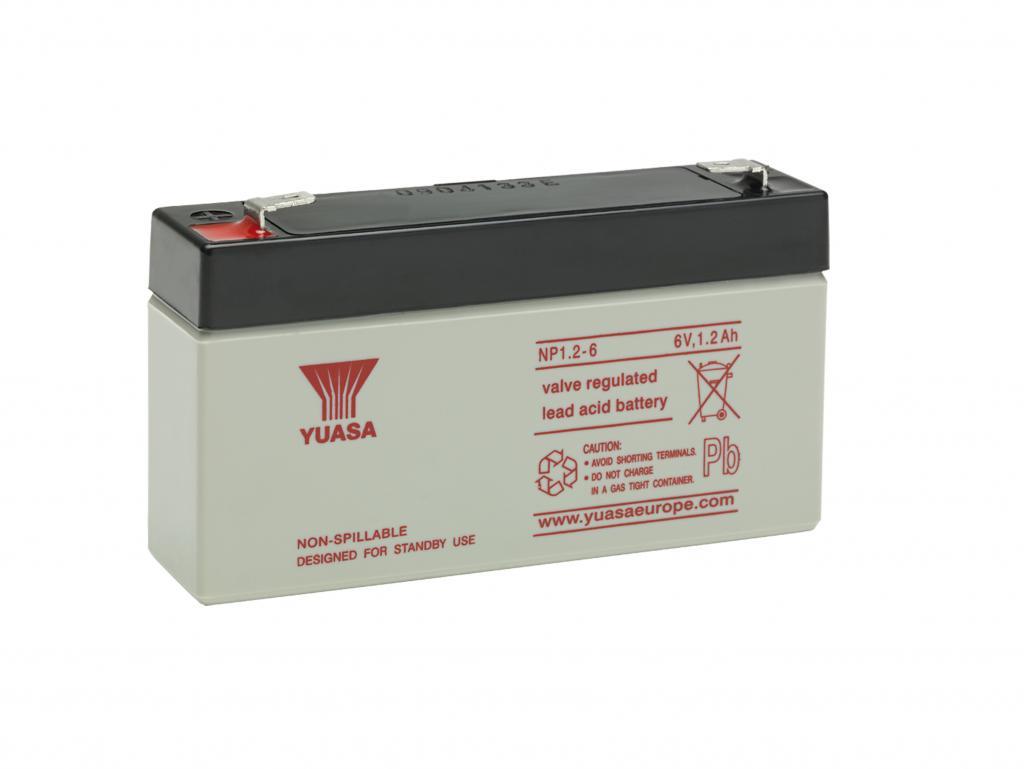 NP1.2-6 Yuasa wartungsfr. AGM Bleibatterie