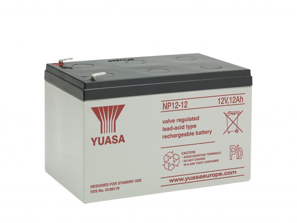 NP12-12 Yuasa wartungsfr. AGM Bleibatterie