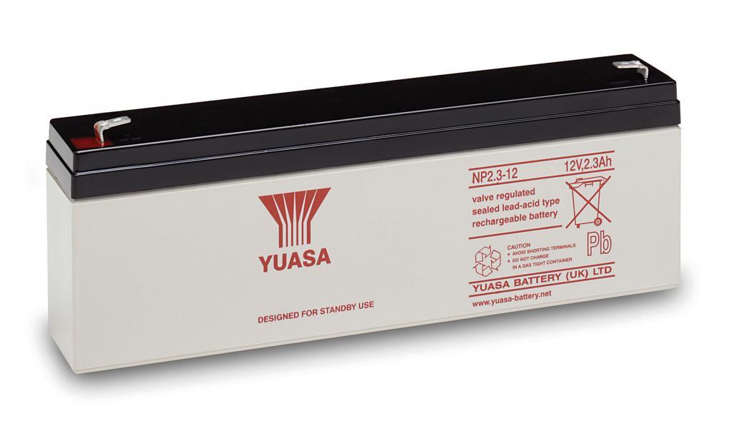 NP2.3-12 Yuasa wartungsfr. AGM Bleibatterie