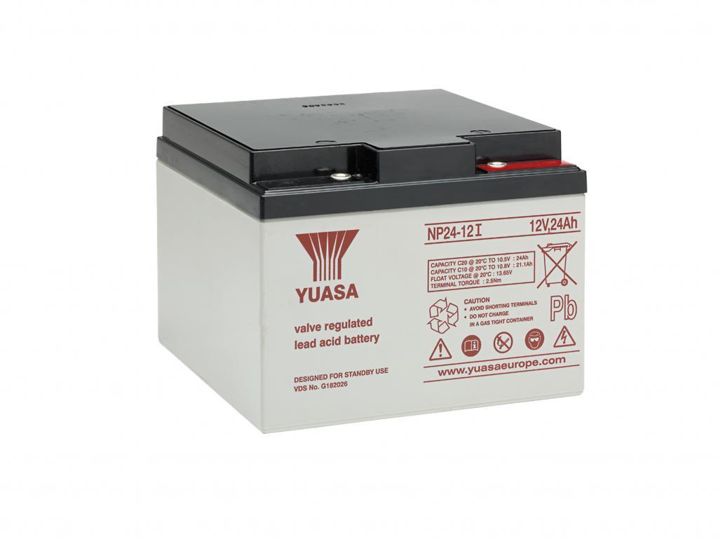NP24-12I Yuasa wartungsfr. AGM Bleibatterie