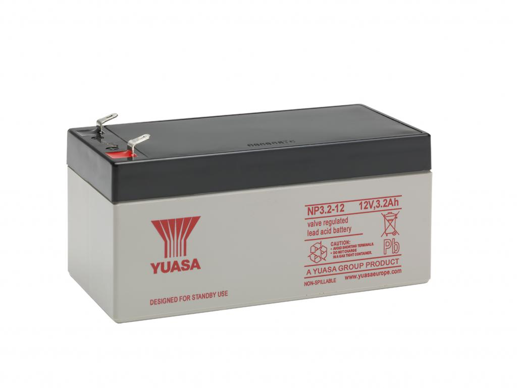 NP3.2-12 VDS Yuasa wartungsfr. AGM Bleibatterie