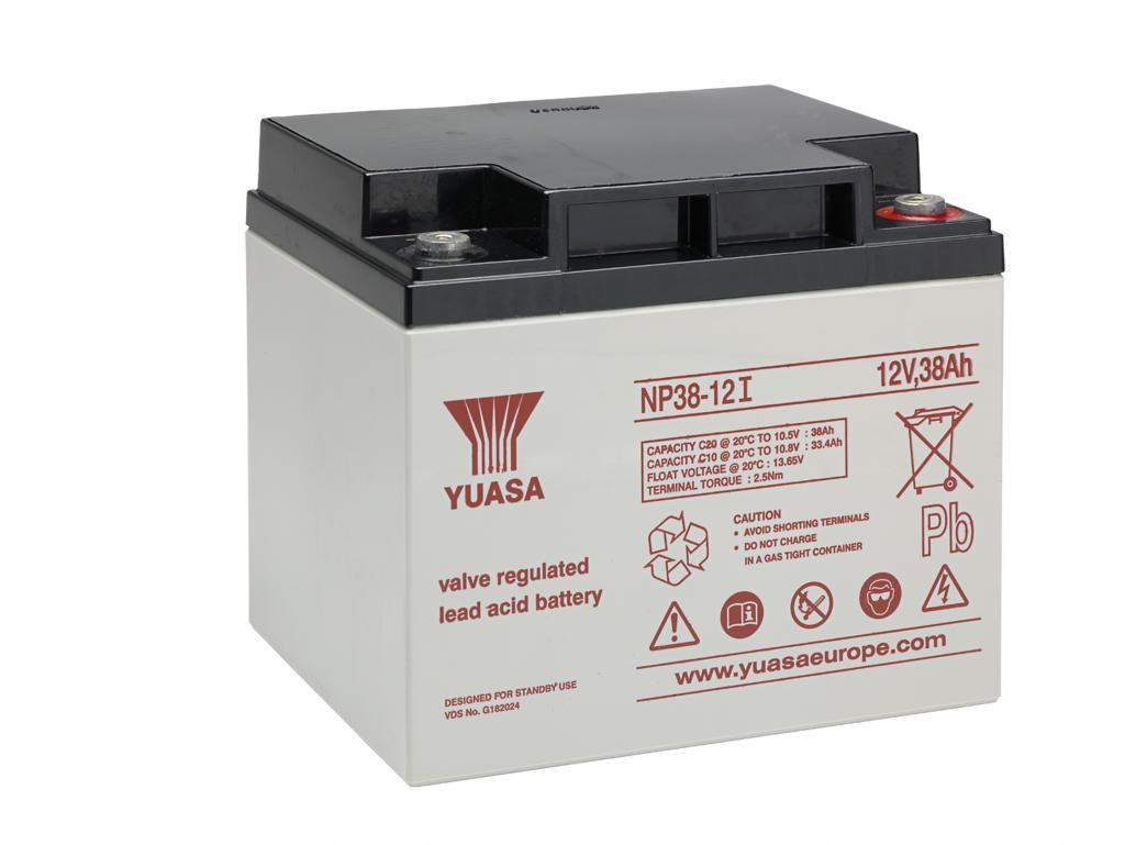 NP38-12 Yuasa wartungsfr. AGM Bleibatterie