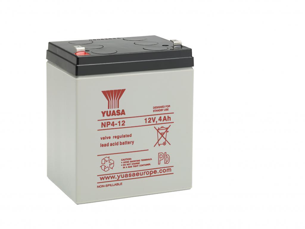 NP4-12 Yuasa wartungsfr. AGM Bleibatterie