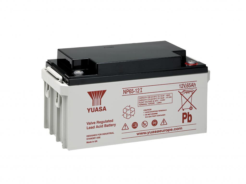 NP65-12I Yuasa wartungsfr. AGM Bleibatterie