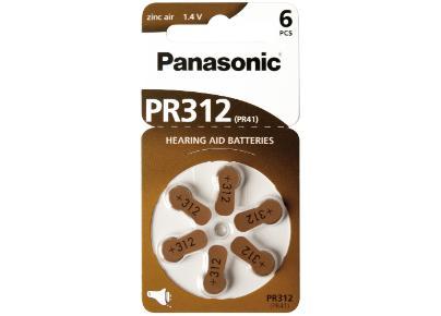 PR-312H Zink Luft Batterie 1,4V / 145mAh