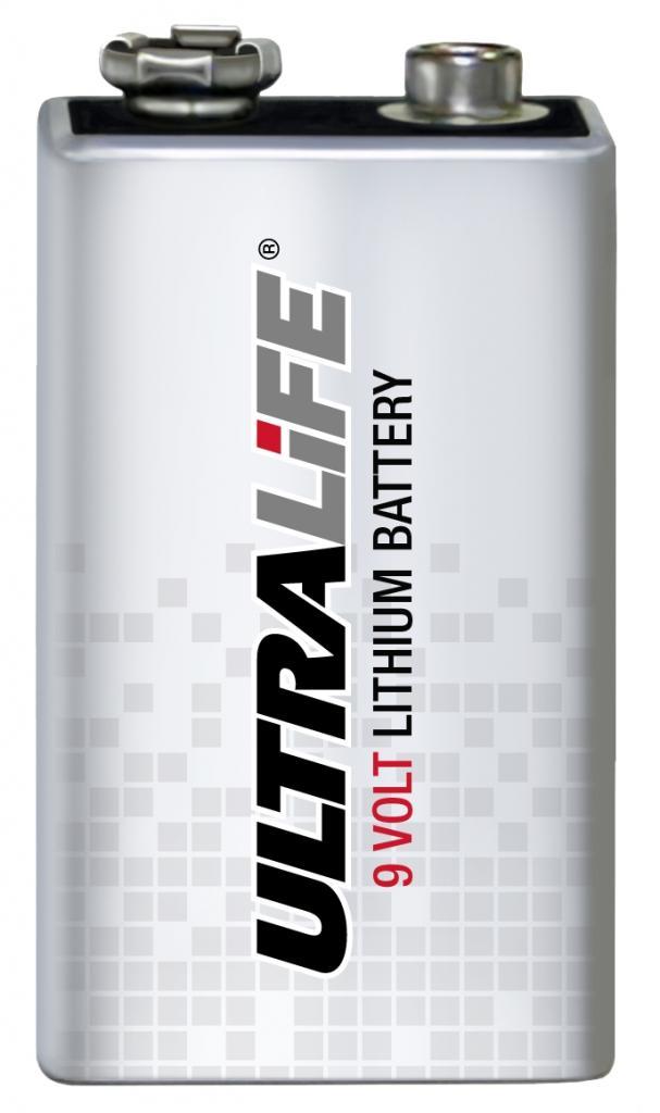 U9VL-JP10 Ultralife Lithium-Mangandioxid Batterie