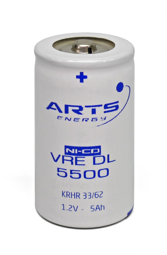 VRE-D-5500CFG Arts Energy NiCd Akku