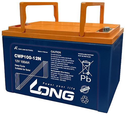 WP-CWP100-12N Kung Long wartungsfr. AGM Bleibatterie