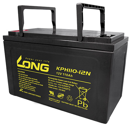 WP-KPH110-12N-M Kung Long wartungsfr. AGM Bleibatterie
