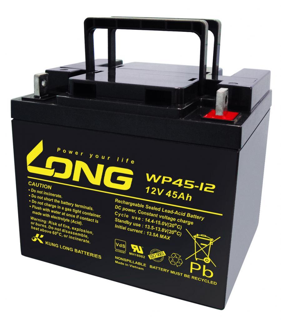 WP45-12-M Kung Long wartungsfr. AGM Bleibatterie
